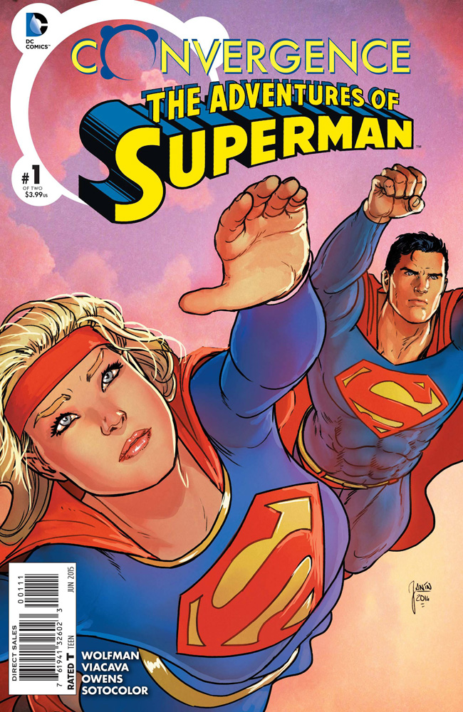 Image: Convergence: Adventures of Superman #1 - DC Comics