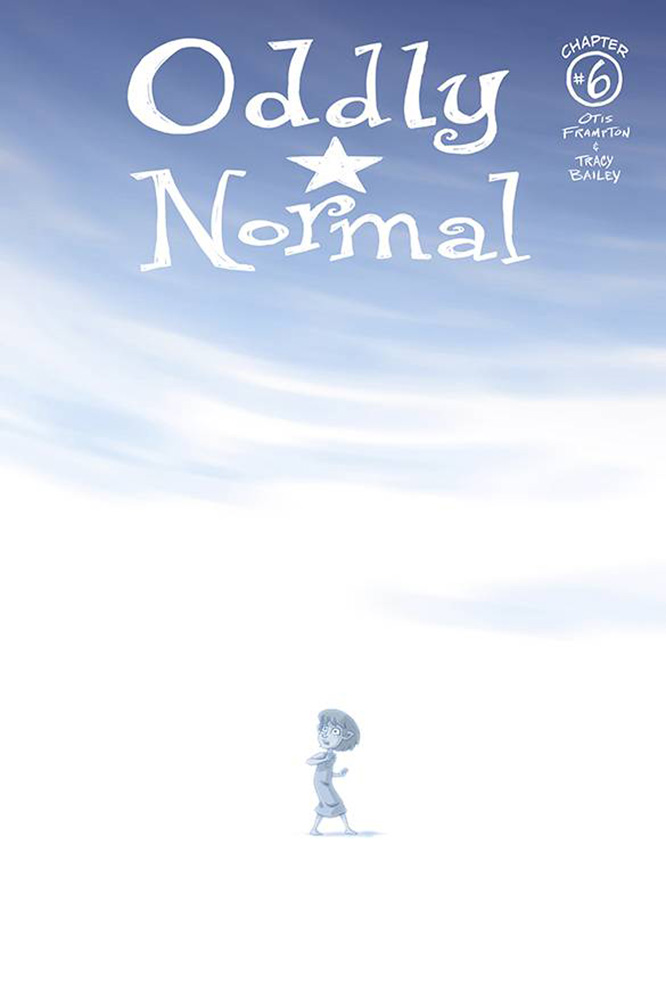 Image: Oddly Normal #6 (cover A - Frampton) - Image Comics