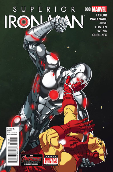 Image: Superior Iron Man #8 - Marvel Comics