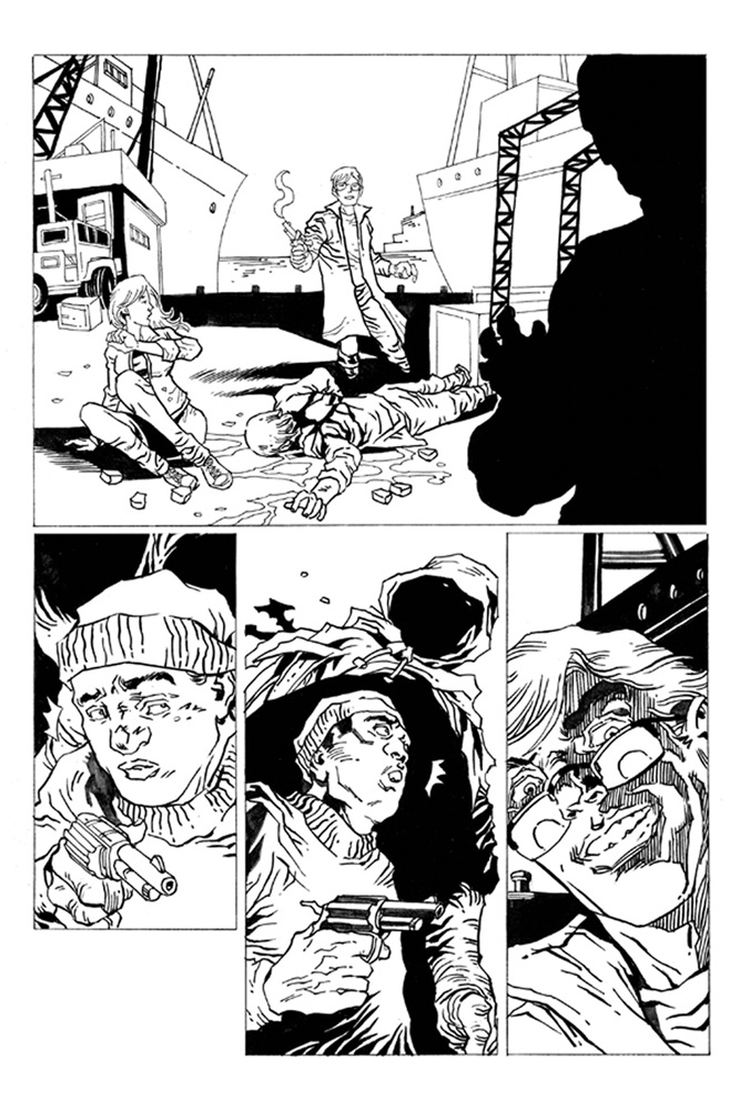 Reanimator #1 (Seeley b&w variant incentive cover - 01031) (10-copy) - Dynamite