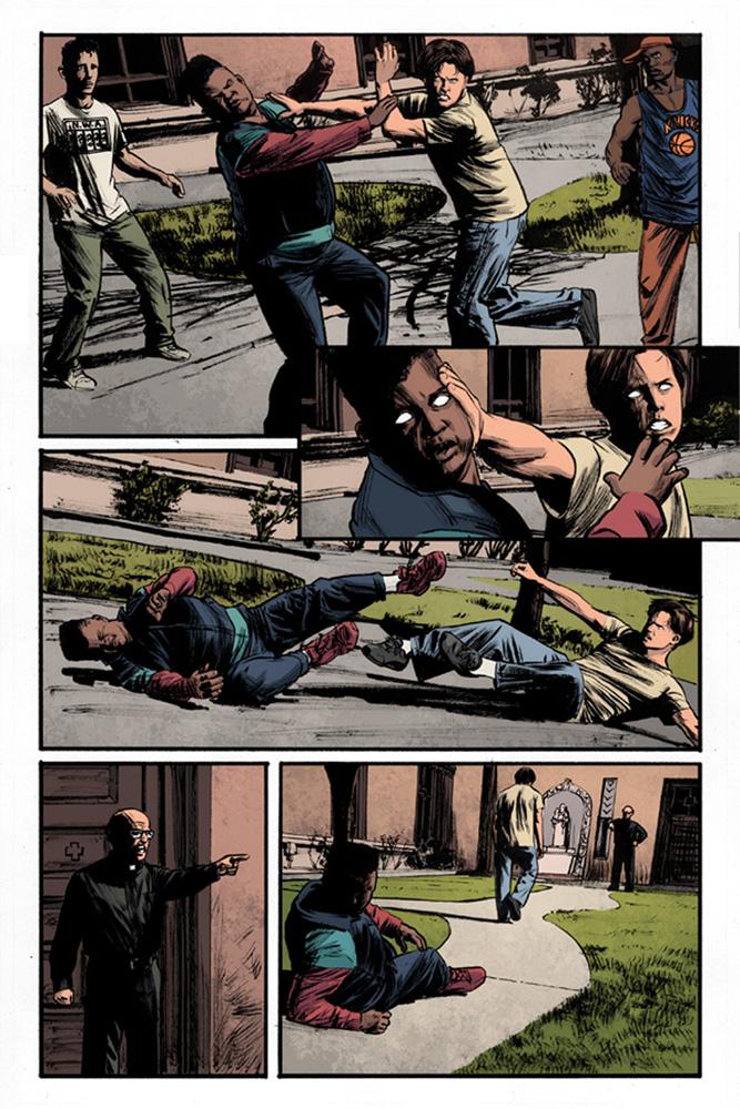 Uncanny Season 2 #1 (Jock virgin variant incentive cover - 01041) (10-copy) - Dynamite