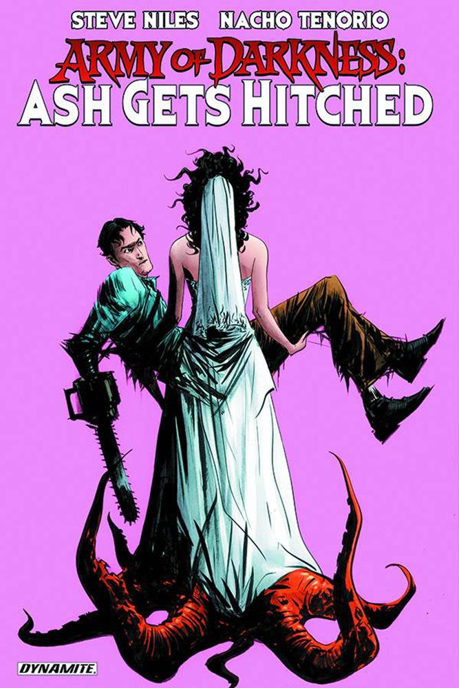 Image: Army of Darkness: Ash Gets Hitched SC  - Dynamite