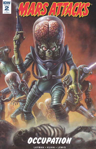 Image: Mars Attacks: Occupation #2 (variant incentive cover - Alex Horly) (10-copy)  [2016] - IDW Publishing