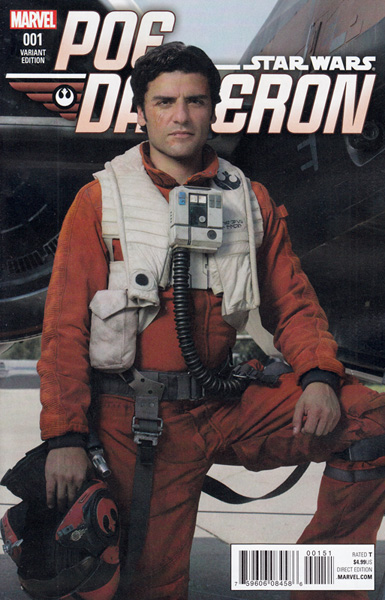 Image: Poe Dameron #1 (variant cover - Movie)  [2016] - Marvel Comics