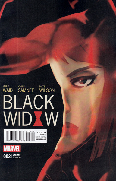 Image: Black Widow #2 (variant cover - Wu)  [2016] - Marvel Comics