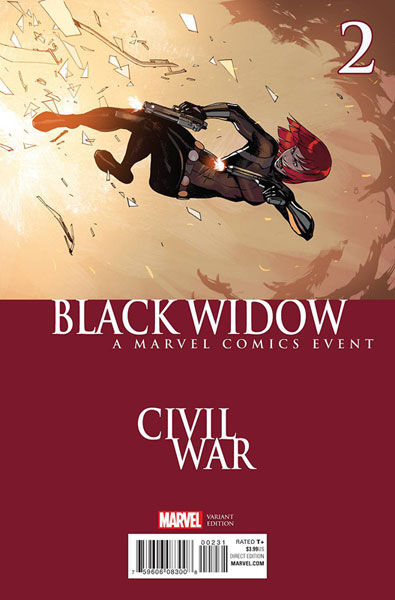 Image: Black Widow #2 (Bengal Civil War variant cover)  [2016] - Marvel Comics