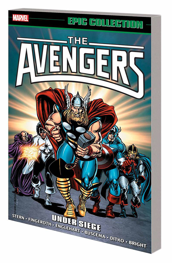 Image: Avengers Epic Collection: Under Siege SC  - Marvel Comics