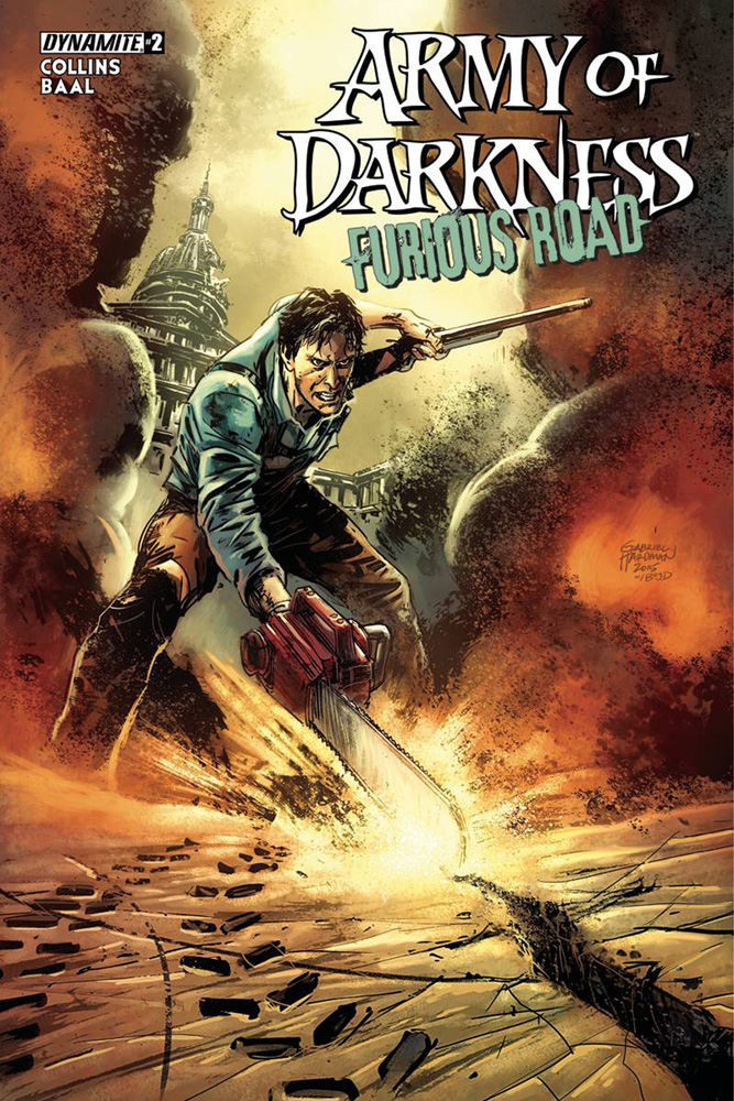 Image: Army of Darkness Furious Road #2 (cover A - Hardman)  [2016] - Dynamite