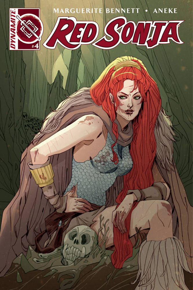 Image: Red Sonja Vol. 03 #4 (cover A - Sauvage)  [2016] - Dynamite