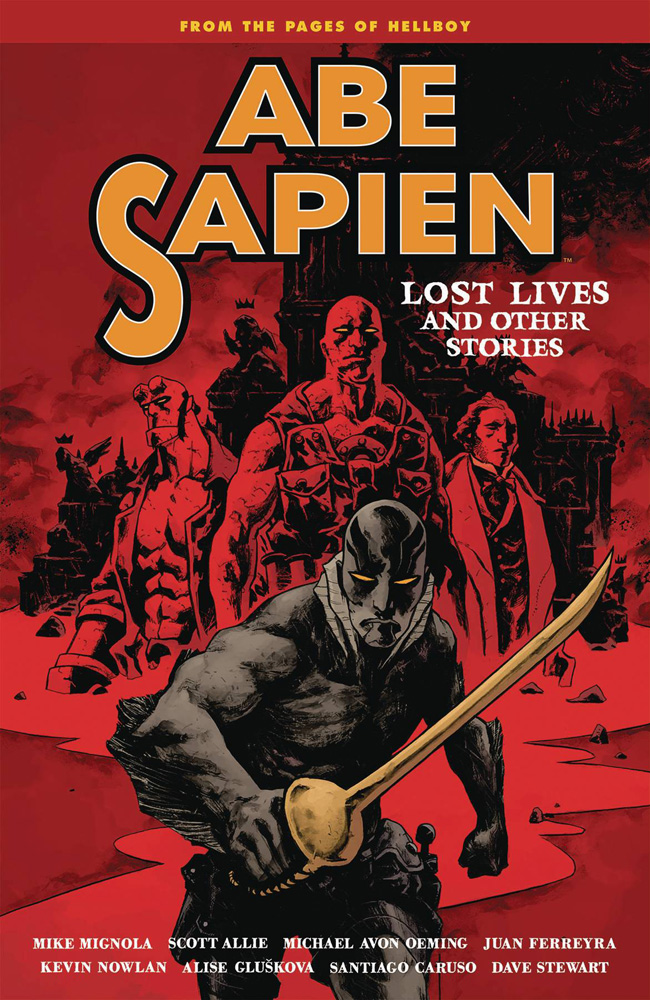 Image: Abe Sapien Vol. 09: Lost Lives and Other Stories SC  - Dark Horse Comics