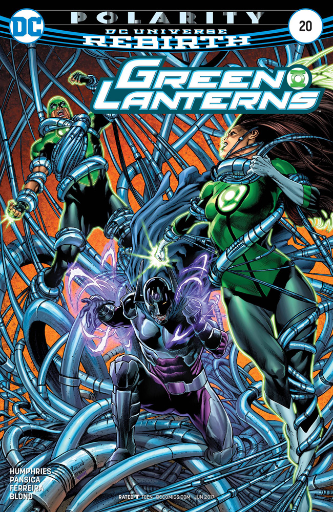 Image: Green Lanterns #20  [2017] - DC Comics