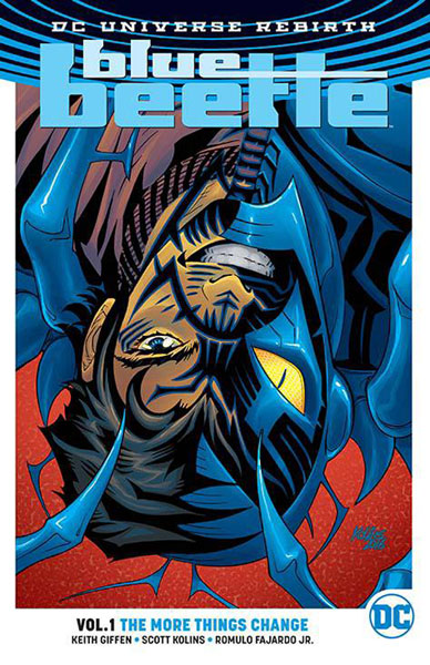 Image: Blue Beetle Vol. 01: The More Things Change SC  - DC Comics