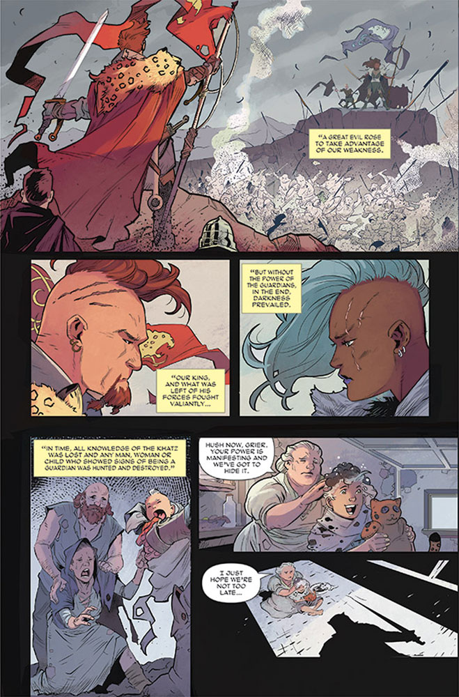 Rose #1 (cover A - Guara)  [2017] - Image Comics