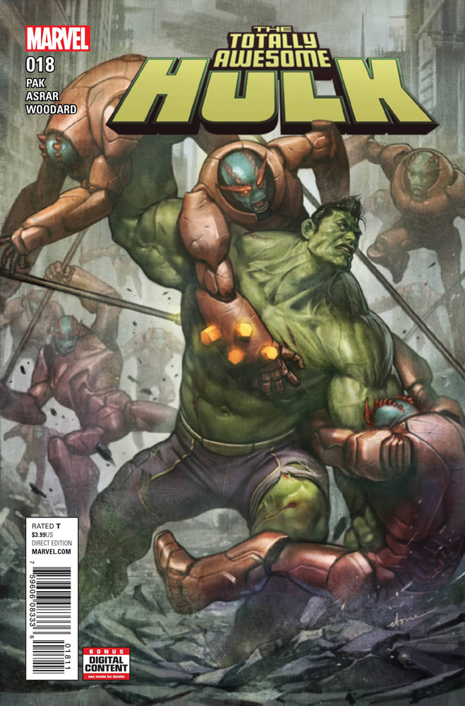 Image: Totally Awesome Hulk #18  [2017] - Marvel Comics