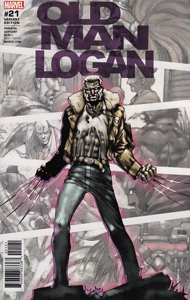Image: Old Man Logan #21 (Asamiya variant cover - 02121)  [2017] - Marvel Comics