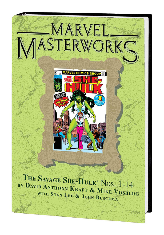 Image: Marvel Masterworks Vol. 246: The Savage She-Hulk Nos. 1-14  HC  - Marvel Comics