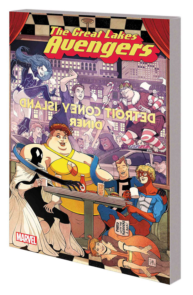 Image: Great Lakes Avengers Vol. 01: Same Old, Same Old SC  - Marvel Comics