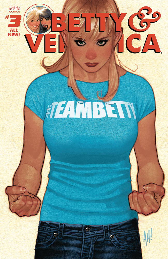 Image: Betty and Veronica Vol. 03 #3 (cover A: Betty - Adam Hughes)  [2017] - Archie Comic Publications