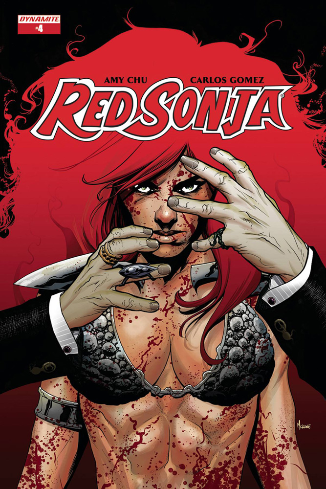 Image: Red Sonja Vol. 04 #4 (cover A - McKone)  [2017] - Dynamite