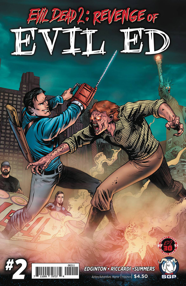 Image: Evil Dead 2: Revenge of Evil Ed #2  [2017] - Space Goat Publishing