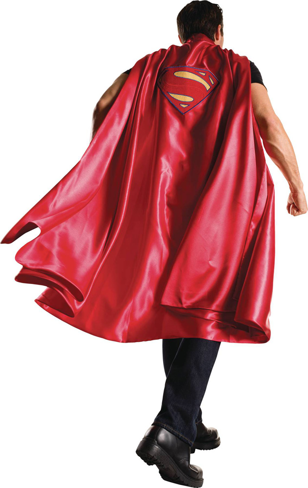 Image: DC Heroes Costume Long Cape: Superman  - Rubies Costumes Company Inc