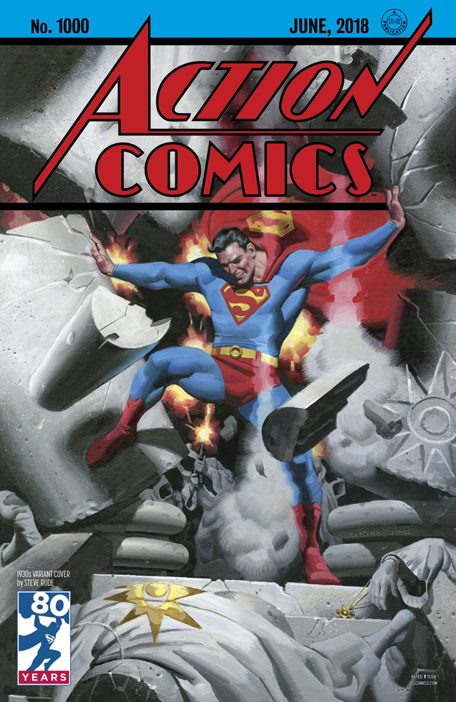 Action Comics #1000 Steve Rude cover