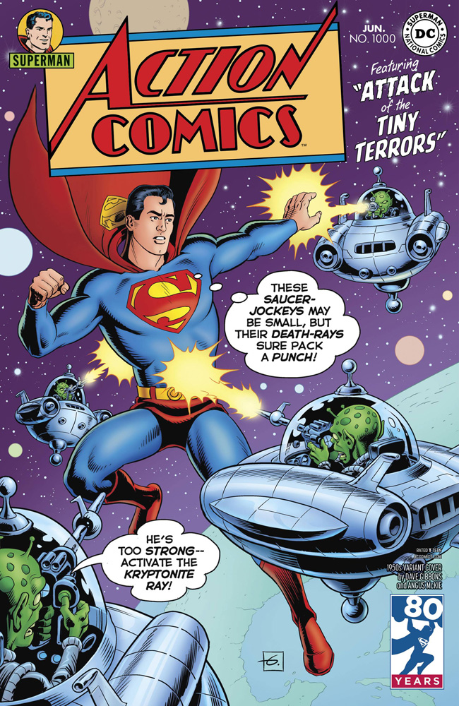 Action Comics #1000 Dave Gibbons cover
