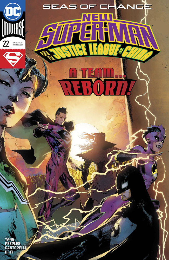 Image: New Super Man & the Justice League of China #22  [4] - DC Comics