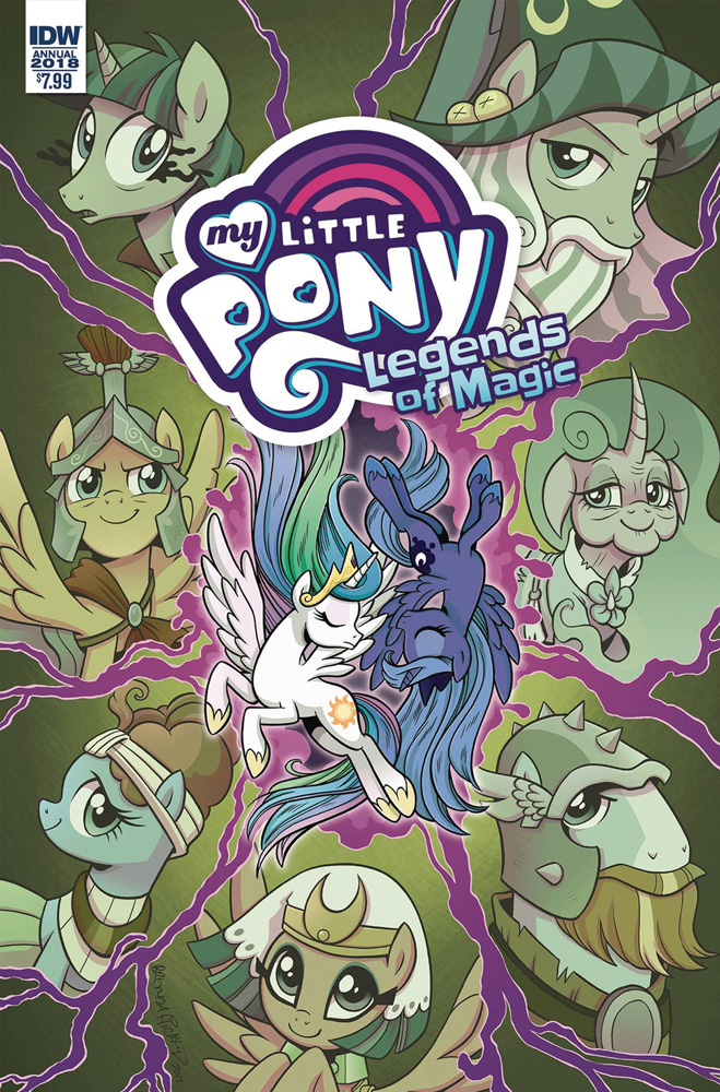 Image: My Little Pony: Legends of Magic Annual 2018  - IDW Publishing