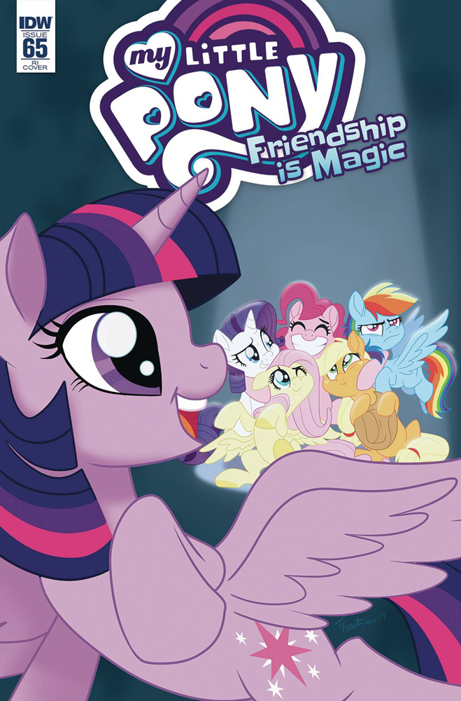 Image: My Little Pony: Friendship Is Magic #65 (incentive cover - Forstner) (10-copy)  [4] - IDW Publishing
