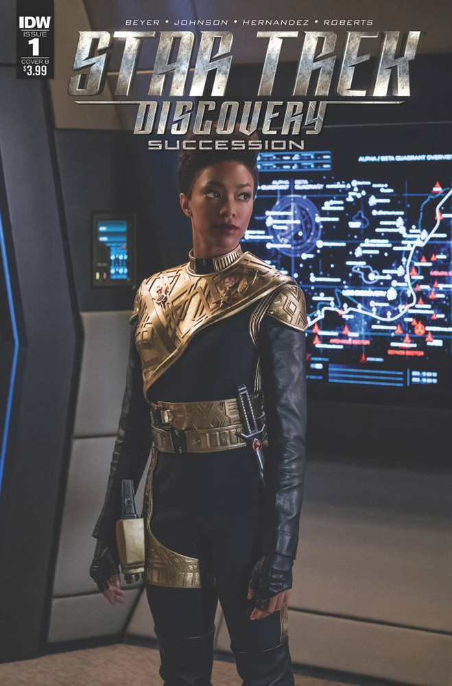 Image: Star Trek: Discovery: Succession #1 (cover B - Photo) - IDW Publishing
