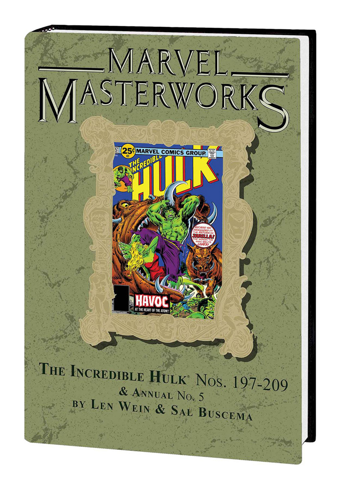 Image: Marvel Masterworks Vol. 263: The Incredible Hulk Nos. 197-209, Annual No. 5  - Marvel Comics