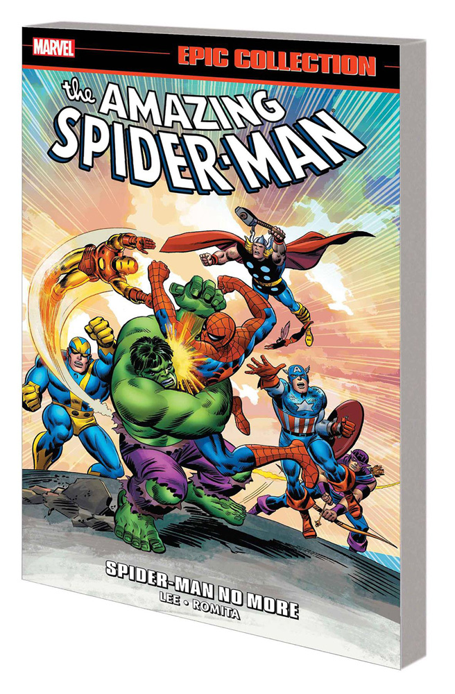 Image: Amazing Spider-Man Epic Collection: Spider-Man No More SC  - Marvel Comics