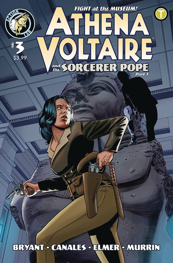 Image: Athena Voltaire #3  [4] - Action Lab Entertainment