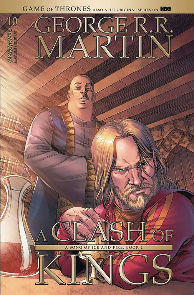 Image: George R. R. Martin's A Clash of Kings #10 (cover A - Miller) - Dynamite