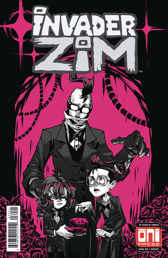 Image: Invader Zim #30 (cover B - Krooked Glasses)  [4] - Oni Press Inc.