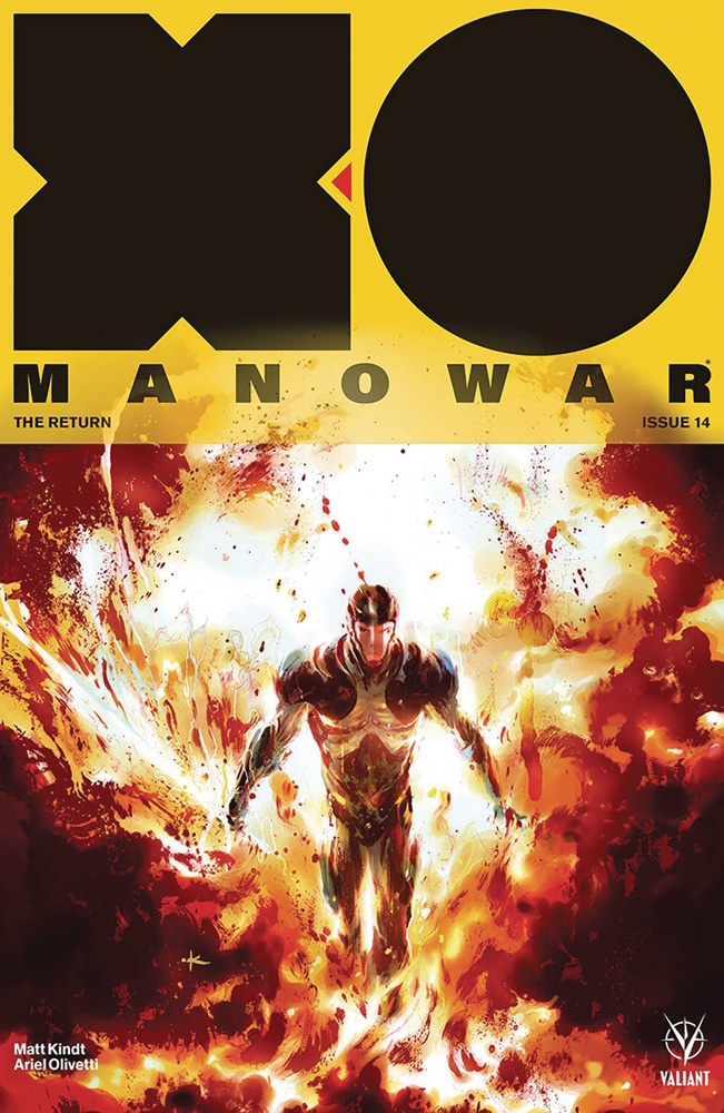Image: X-O Manowar [2017] #14 (cover C incentive - Grant) (20-copy) - Valiant Entertainment LLC