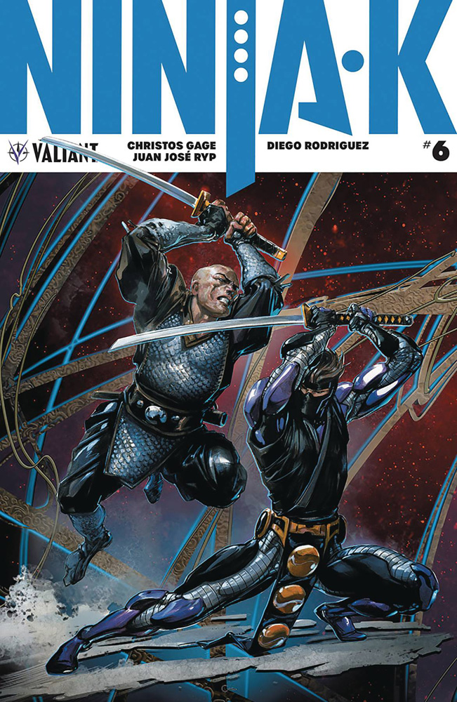 Image: Ninja-K #6 (cover C incentive - Crain) (20-copy)  [4] - Valiant Entertainment LLC
