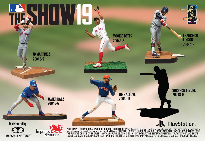 MLB The Show 19 Javier Baez Action Figure