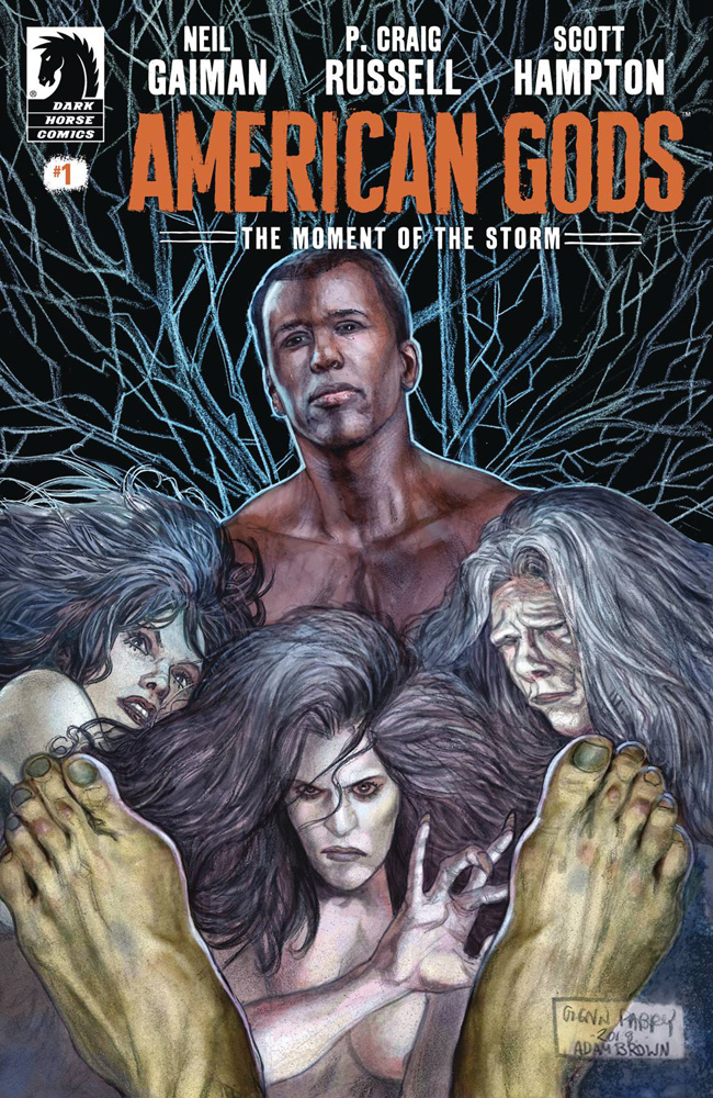 Image: American Gods: The Moment of the Storm #1 - Dark Horse Comics