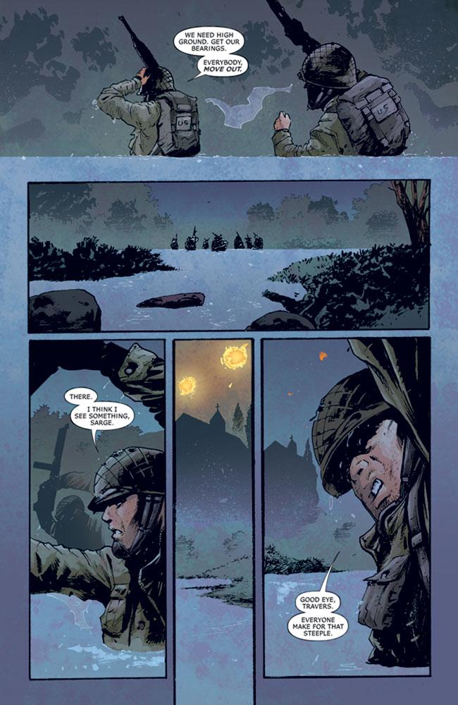 Six Days: The Incredible Story of D-Day's Lost Chapter HC  - DC Comics - Vertigo