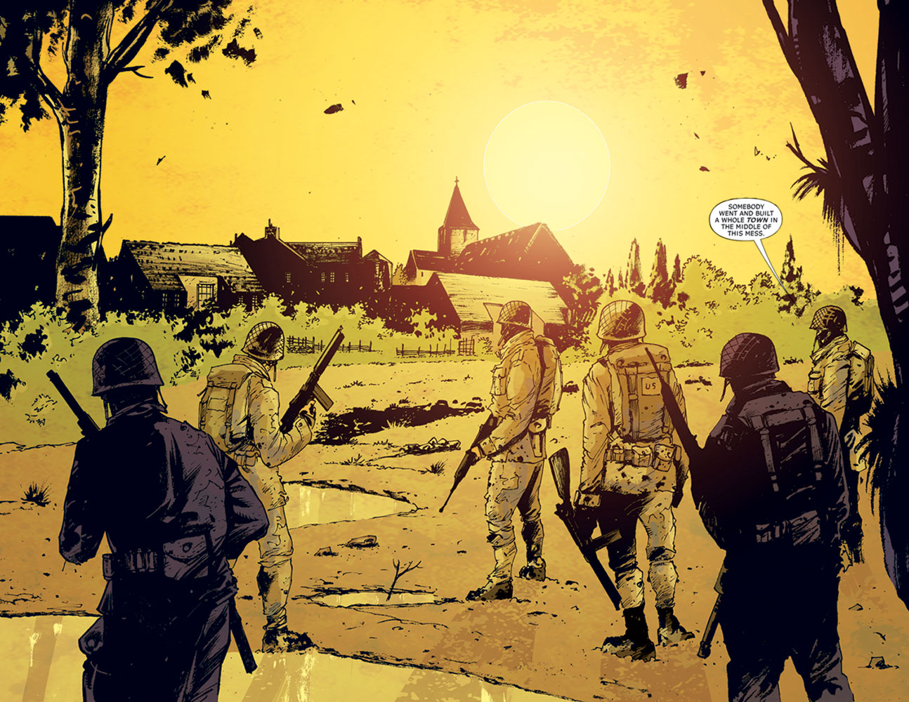 Six Days: The Incredible Story of D-Day's Lost Chapter HC  - DC Comics - Vertigo
