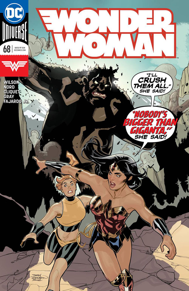 Image: Wonder Woman #68  [2019] - DC Comics