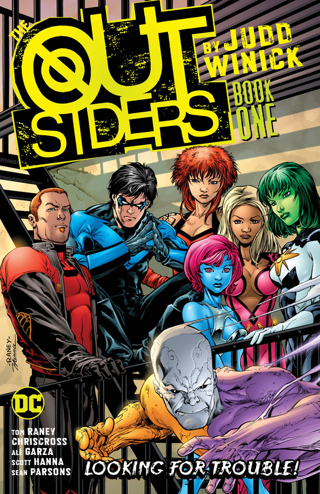 Image: Outsiders by Judd Winick: The Darker Side of Justice SC  - DC Comics