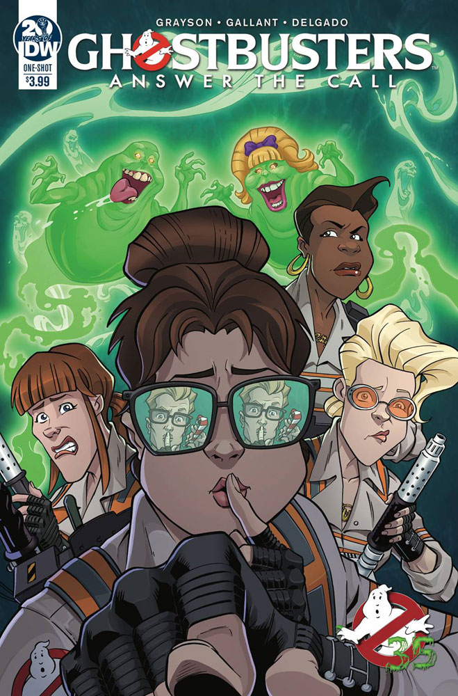 Image: Answer the Call Ghostbusters 35th Anniversary  - IDW Publishing