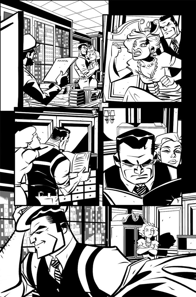 Dick Tracy Forever #1 (cover A - Oeming) - IDW Publishing