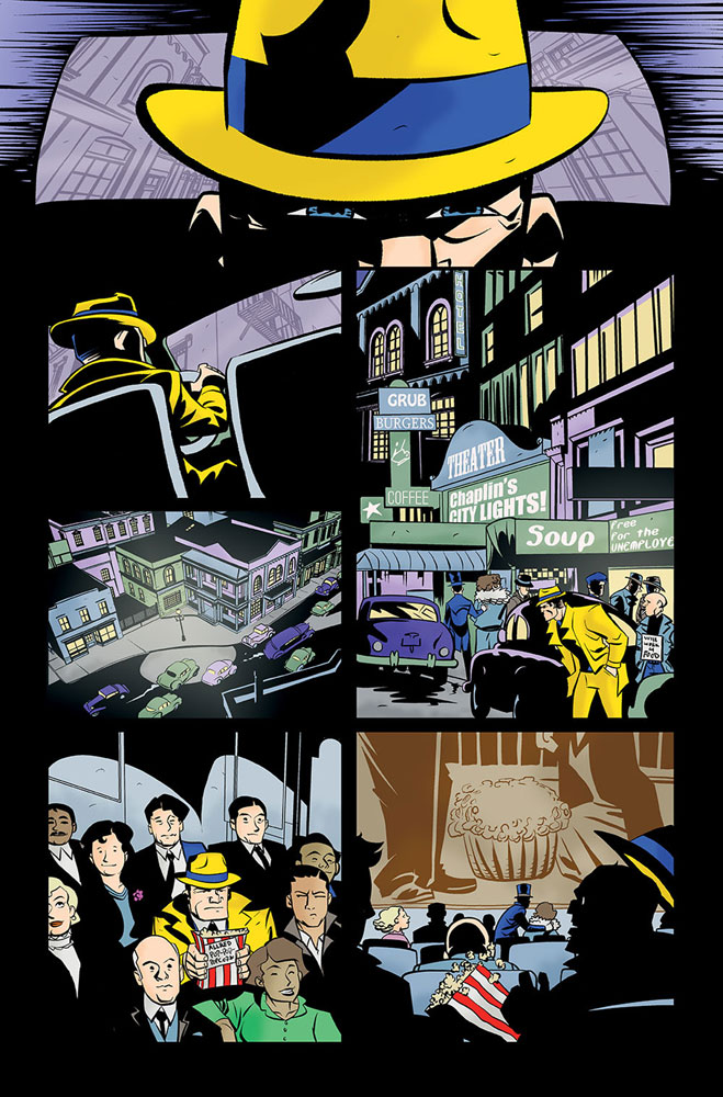Dick Tracy Forever #1 (incentive cover - Oeming) (10-copy)  [2019] - IDW Publishing