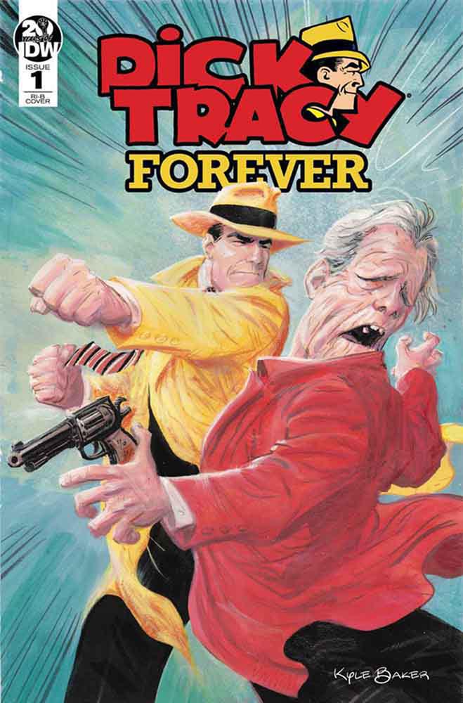 Dick Tracy Forever #1 Kyle Baker variant cover