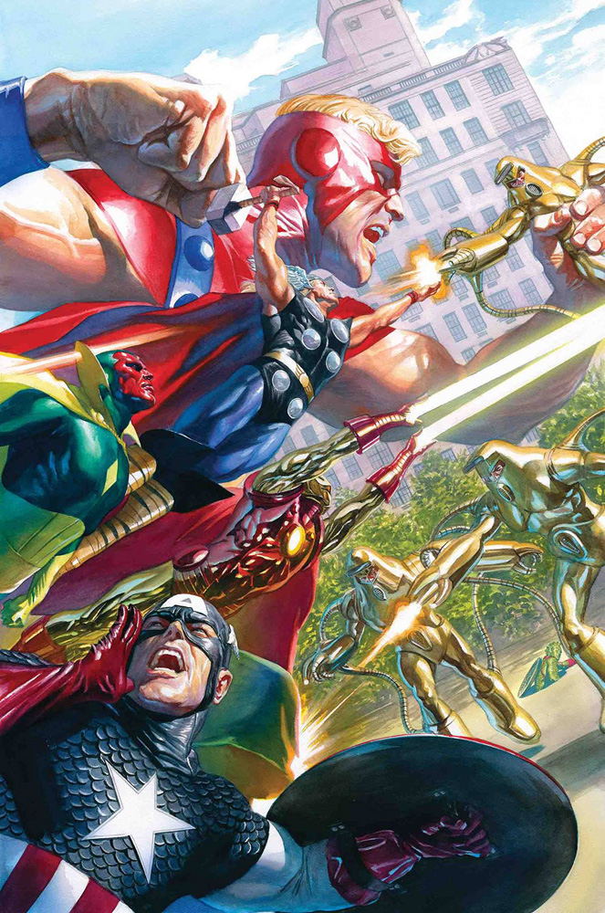 Image: Avengers #18 (incentive Marvels 25th Anniversary cover - Alex Ross)  [2019] - Marvel Comics