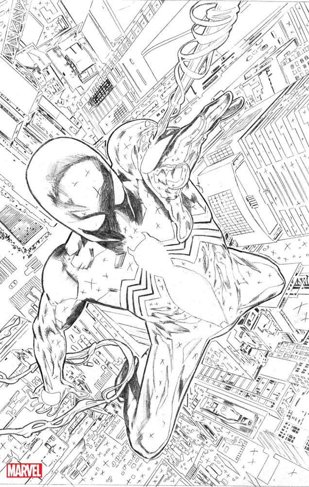 Symbiote Spider-Man #1 (incentive cover - Nick Bradshaw)  [2019] - Marvel Comics